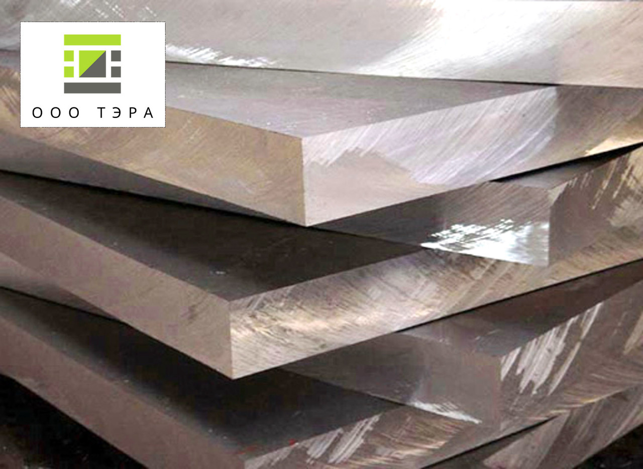 Куски алюминиевого листа 82 мм Д16