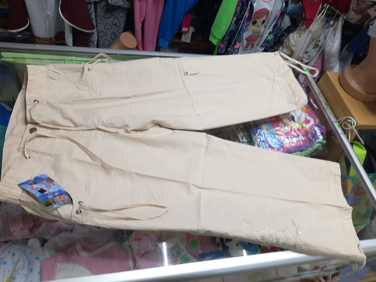 Летние женские шорты удлиненные с карманами Свободного кроя р.48 - 50