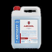 Антисептик СПИРТОВОЙ для кожи и рук 5 литров Antisept санитайзер убивает 99% вирусов