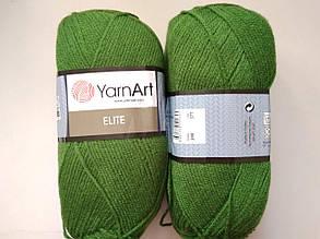Пряжа Элит (Elite) Yarn Art, цвет зеленый 248