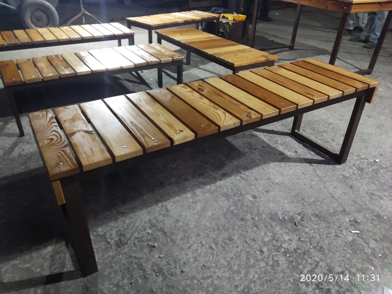 Садовая мебель (столы, лавки)