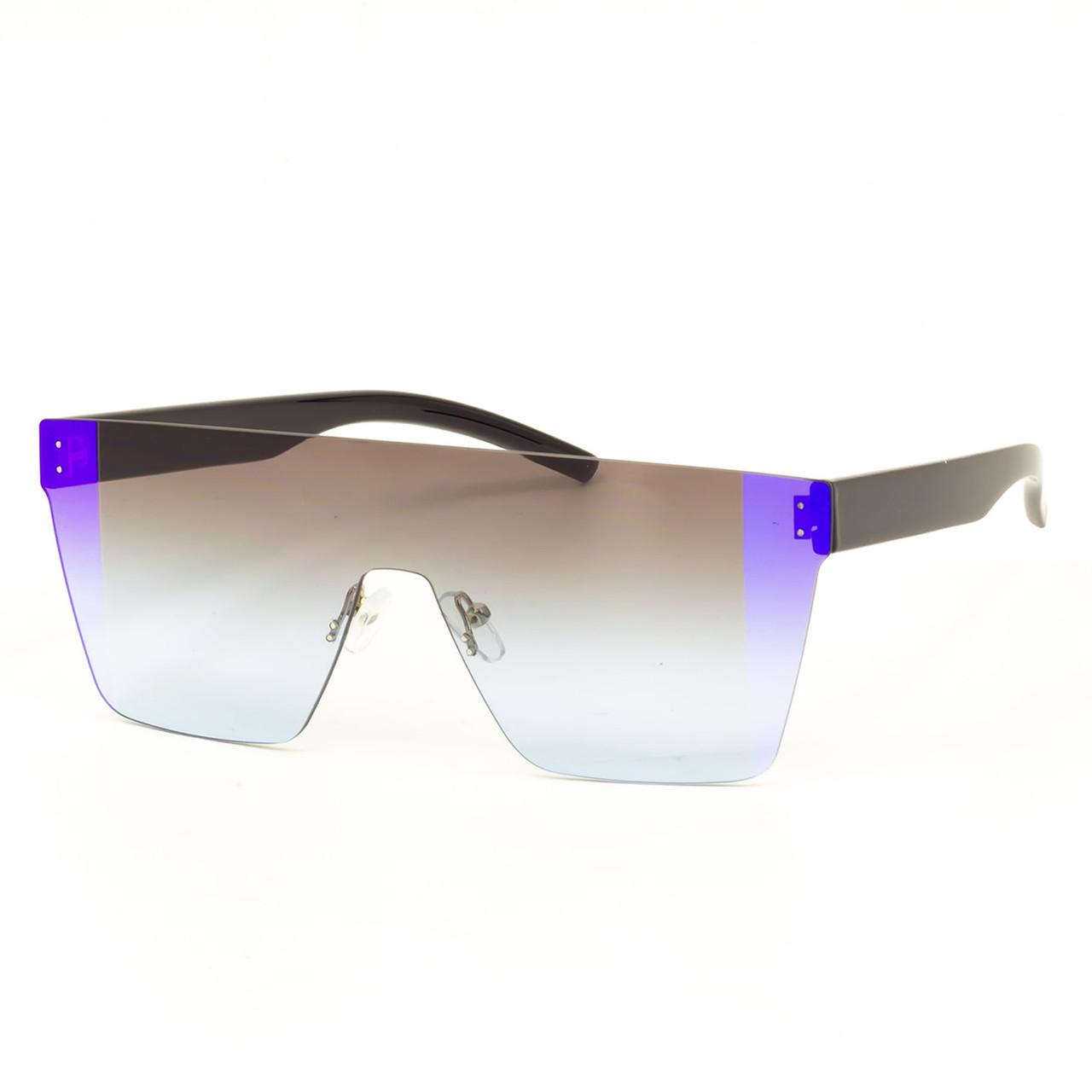 Сонцезахисні окуляри Marmilen 8080 C2 чорно блакитні з дзеркальним покриттям ( PL8080-02 )