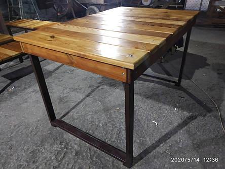 Садовая мебель (столы, лавки), фото 2