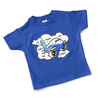 Детская футболка Boeing Airplane Parts Toddler 337037010003 (Royal Blue)