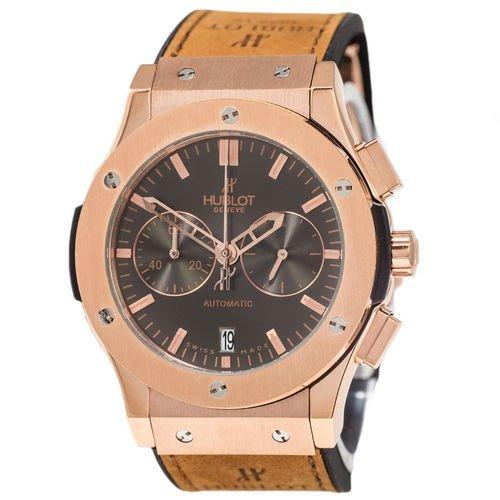 Hublot Classic Fusion Chronograph Brown-Gold-Black 5828