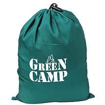 """Гамак подвесной походной GreenCamp """"MINAS"""", размер 270*180 см, полиэстр, цвет зеленый, 2 карабина, фото 3"""