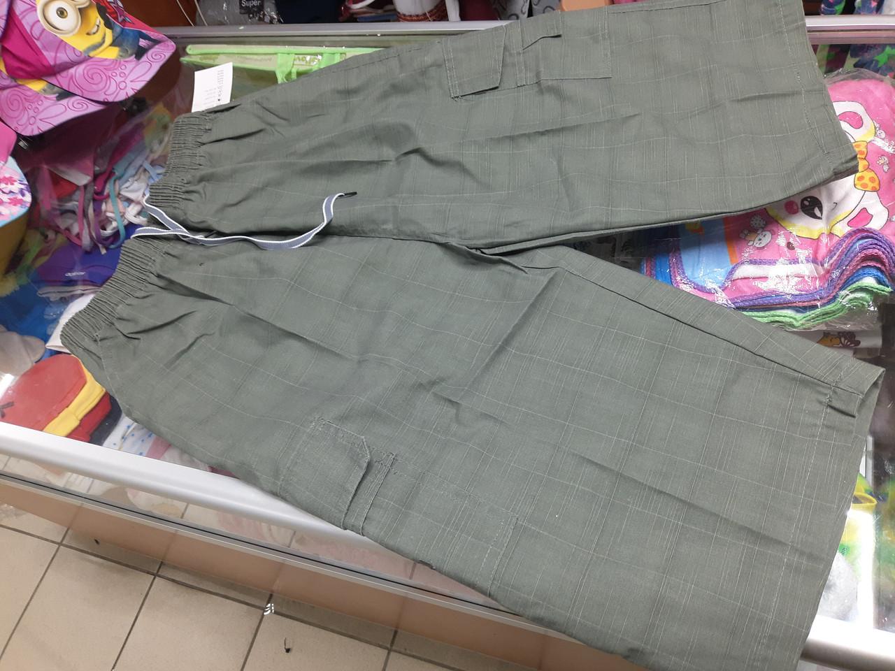 Мужские хлопковые летние шорты с карманами р.56 58