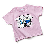 Детская футболка Boeing Airplane Parts Toddler 337037010003 (Pink)