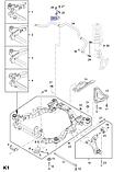 Втулка стабилизатора переднего Каптива C100/140 Антара, GM, 20921403, фото 4