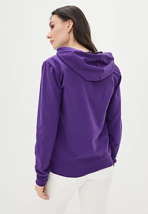 Худи женский с капюшоном, цвет фиолетовый, фото 2