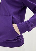 Худи женский с капюшоном, цвет фиолетовый, фото 3