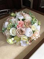 Букет на авто/для машины/свадебное украшение/ Цветы/ квіти/прикраси