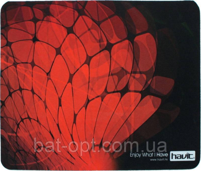 Коврик для мыши Havit HV-MP808 28x23см красно-черный