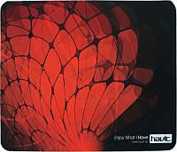 Коврик для мыши Havit HV-MP808 28x23см красно-черный, фото 1