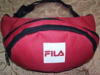(13*28)Детская сумка на пояс FILA красный Оксфорд ткань спортивные барсетки сумка Девочка и мальчиктолько опт