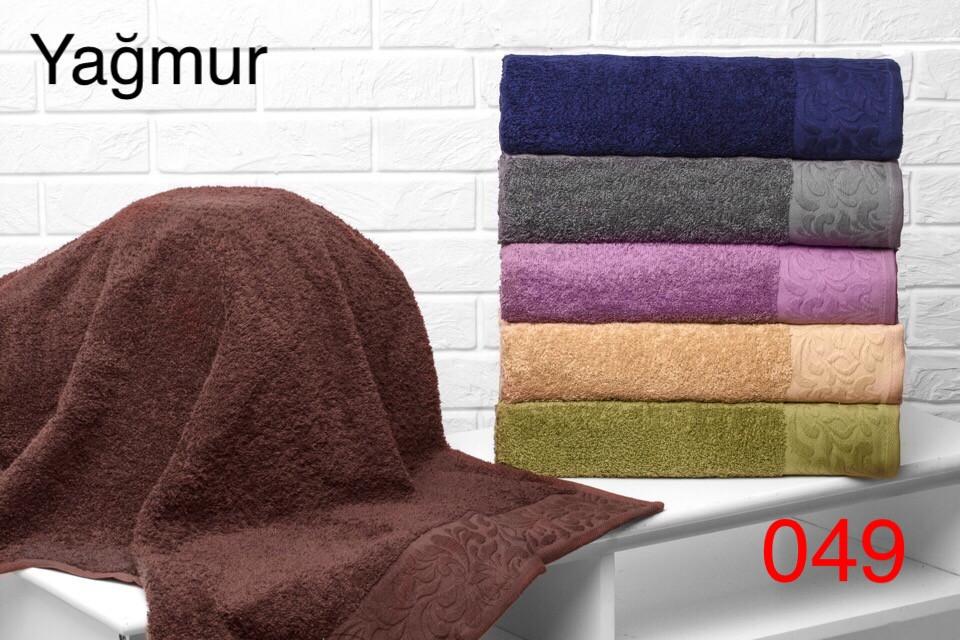 Набор из 6-ти махровых полотенец хлопок 50х90 Hanibaba Yagmur