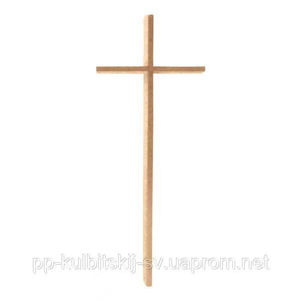 Накладний хрест на памятник бронзовий Lorenzi 2052 \100