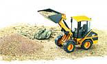 Bruder Игрушка машинка дорожный погрузчик CAT, 02441, фото 4