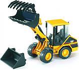 Bruder Игрушка машинка дорожный погрузчик CAT, 02441, фото 5