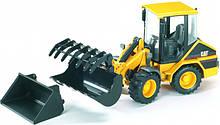 Bruder Игрушка машинка дорожный погрузчик CAT, 02441