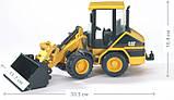 Bruder Игрушка машинка дорожный погрузчик CAT, 02441, фото 7
