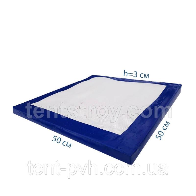 Дезинфицирующий коврик 50х50х3см. Антибактериальный коврик для обуви