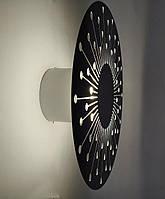 Светодиодное бра на стену (WM3540-230 BK 6W Melody)