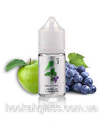 Жидкость WES Silver #4 Apple&Grape (Солевой никотин)