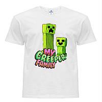 Футболка детская Minecraft (Майнкрафт) Белый (9224-1176)