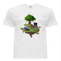 Футболка детская Minecraft (Майнкрафт) Белый (9224-1177)