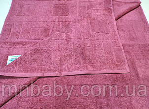 Полотенце махровое 70*140 см розовое