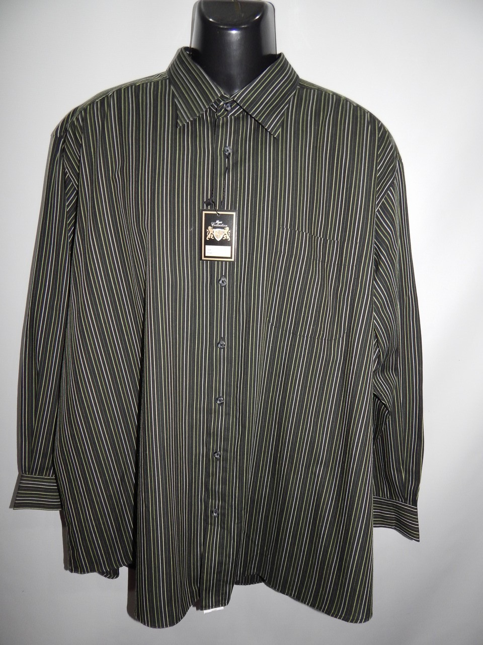Мужская рубашка с длинным рукавом Jupiter оригинал 025ДР р.56 батал
