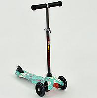 """Самокат  MINI """"Best Scooter"""". Светящиеся колёса. 3 колеса. Разные расцветки"""
