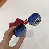 Окуляри сонцезахисні брендові під Ray Ban чорні недорогі копії, фото 2