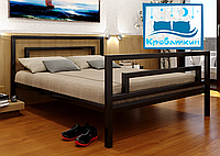 Металлическая кровать Brio-2 (Брио-2) 90х190см Метакам