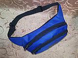 (13*28)Детская сумка на пояс PUMA электрик Оксфорд ткань спортивные барсетки Девочка и мальчик опт, фото 4