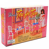 Детская игрушечная мебель Глория Gloria для кукол Барби для чаепития. Обустройте кукольный домик (96007)