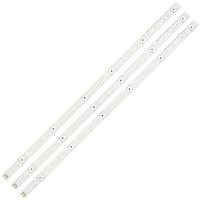 """LED планки 590мм LG32"""" INNOTEK DRT 3.0 32 """"_A / B Тип 6916L-1974A 6916L-1975A DC6V комплект, 3 шт"""
