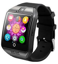 Умные Мужские умные часы Q18 Apro Black