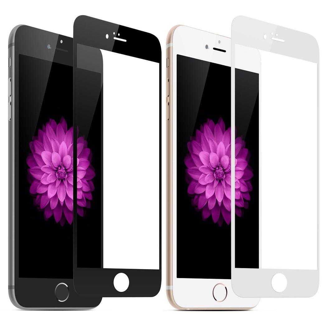 Защитное стекло  весь экран for Apple iPhone 6 Plus face (black)