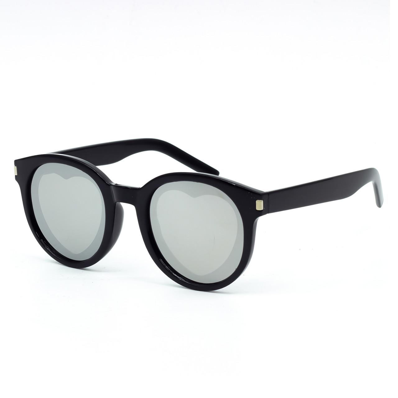 Солнцезащитные очки Marmilen Z3302 черные зеркальные     ( Z3302-05 )