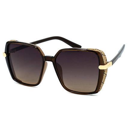 Сонцезахисні окуляри JC R9949 C3 коричневі ( R9949-03 ), фото 2