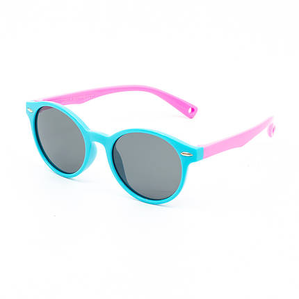 Солнцезащитные очки Marmilen Polar S8217P C27 голубой розовый   ( KAS8217P-27 ), фото 2
