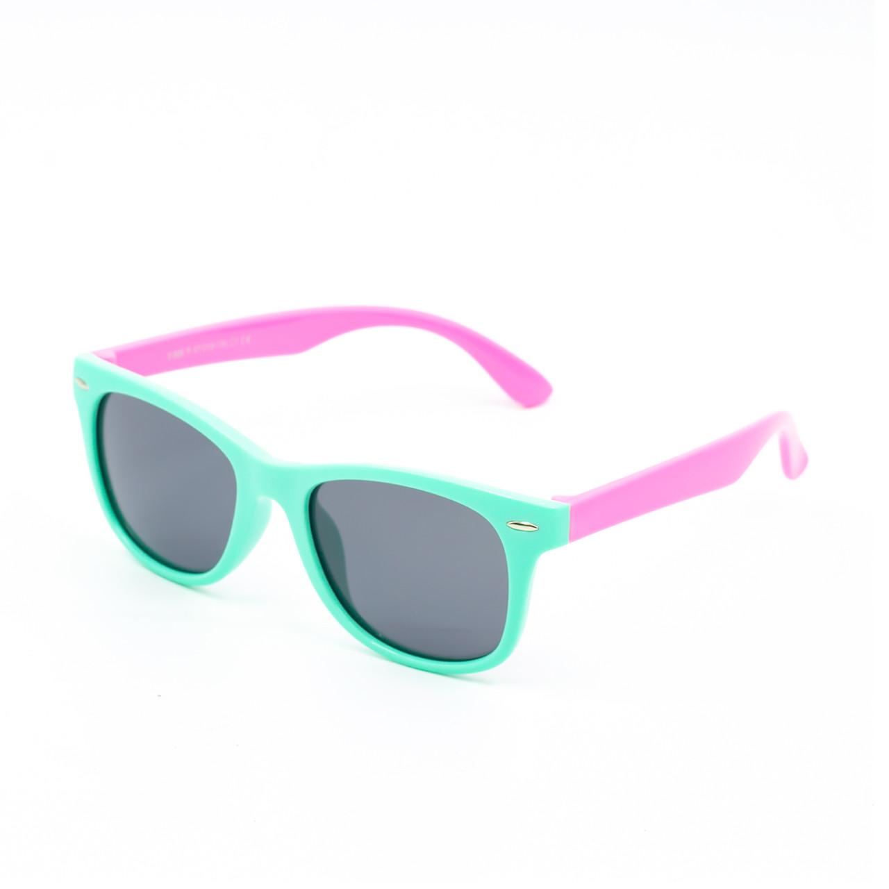Солнцезащитные очки Marmilen Polar S886P C1 мята с розовым    ( KAS886P-1 )