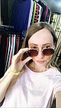 Очки солнцезащитные брендовые под Ray Ban коричневые недорогие копии, фото 7