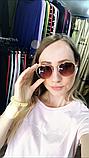 Очки солнцезащитные брендовые под Ray Ban коричневые недорогие копии, фото 8