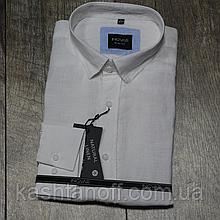 Рубашка Ingvar, лен белого цвета