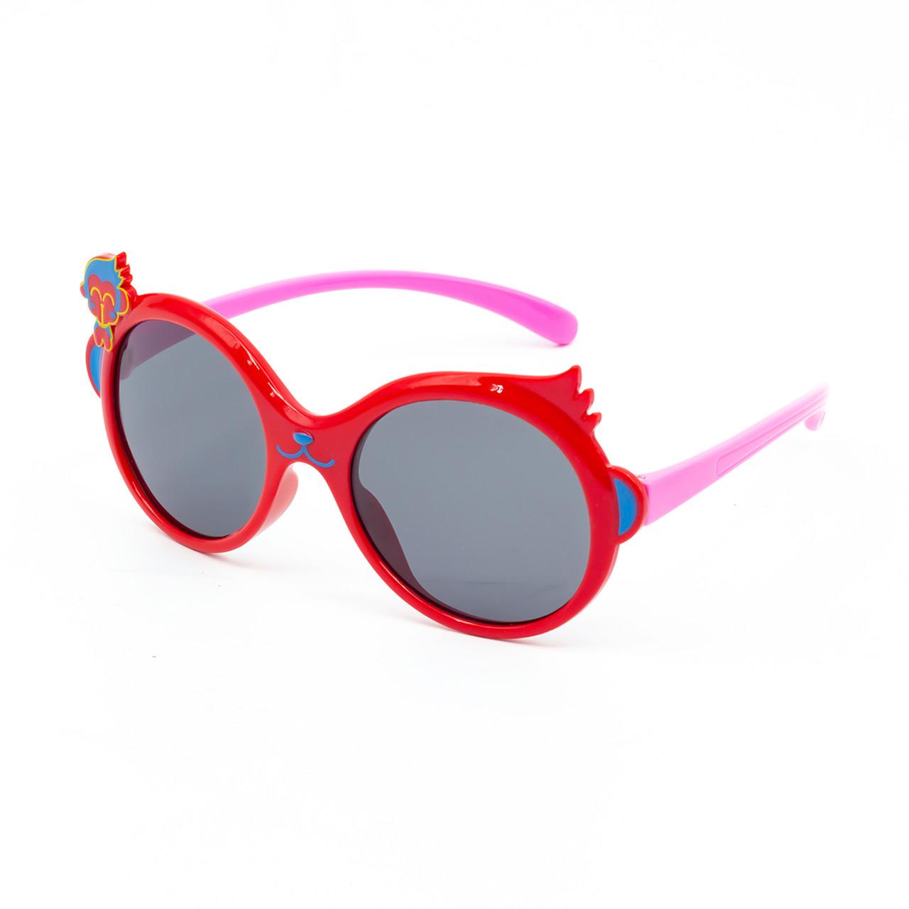 Солнцезащитные очки Marmilen P18145 C2 красные с розовым    ( KAP18145-02 )