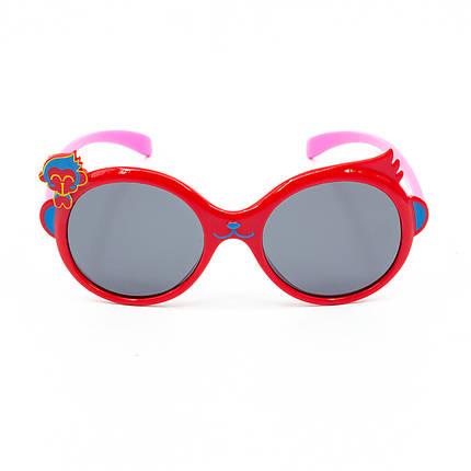 Солнцезащитные очки Marmilen P18145 C2 красные с розовым    ( KAP18145-02 ), фото 2