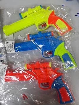Водный пистолет маленький 3 цвета